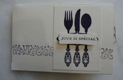 Carte double invitation