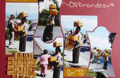 Offrandes à Munduk.
