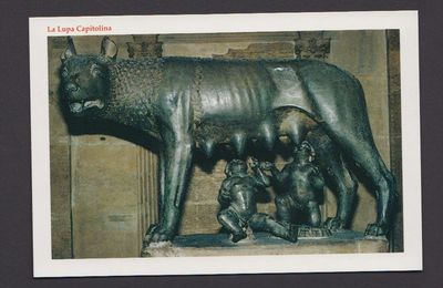 Cartes de Rome - Sculptures