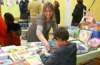 Ce week-end, salon du livre à Thomery
