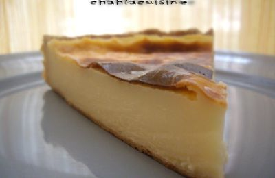 tarte au flan pâtissière