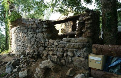 mur ouest/loge n°2....début des hostilités.