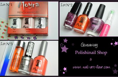Nouveau giveaway Polishinail Shop