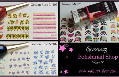 Giveaway Polishinail Shop // A gagner !