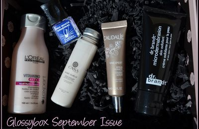 Glossybox - September Issue