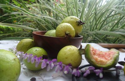 Fruits de saison: Les Goyaves
