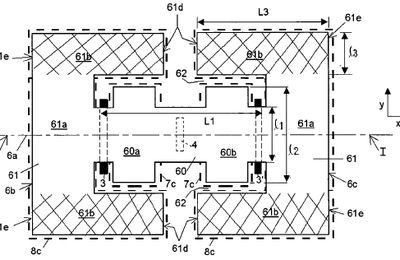 DelfMEMS Patent : MEMS Structure With a Flexible Membrane & Improved Electric Actuation Means