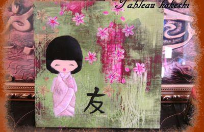 tableaux kokeshi