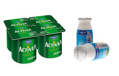 YAOURT ACTIVIA ACTIMEL = OBESITE
