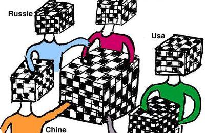 Le monde comme une grande partie d'échecs où on doit savoir comment négocier