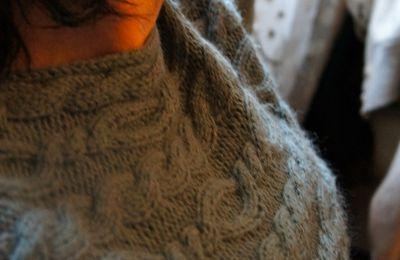 le tricot c'est long