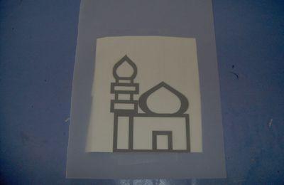 Mosquée vitrail