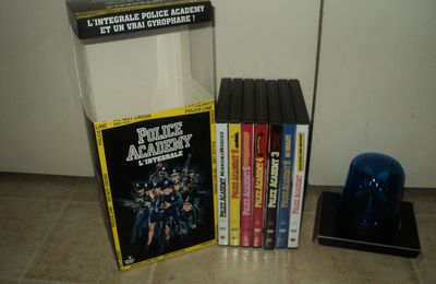 Police Academy coffret collector Gyrophare