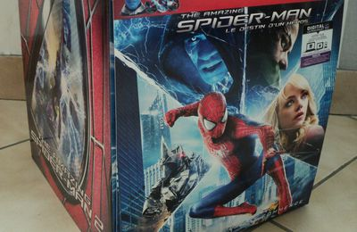 [Déballage] The Amazing Spider-Man 2 Coffret collector tête d'Electro