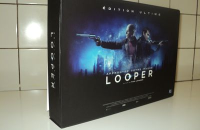 [Déballage] Looper - Coffret Edition Limitée - Blu-Ray + DVD + Copie Digitale