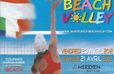 Monte Carlo Monaco fivb world tour fx tour pro photo tournoi international beach volley feminin women challenge personal plus carabinier picture