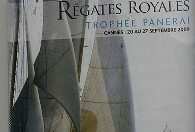 Cannes - Regates Royales bateau boat  yacht panerai picture photo
