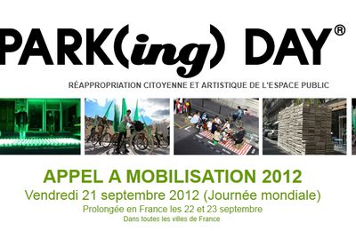 Mobilisons nous pour le Parking day le 21 septembre 2012 !