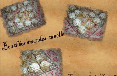 Bouchées amandes cannelle!
