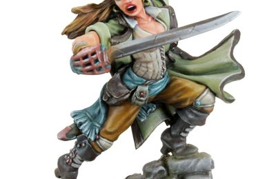 Freebooter Miniatures: Crazy Perez & Beameh
