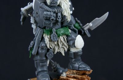 Space Wolves Scout - WIP
