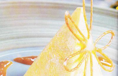 Mousse de mandarine à la lavande