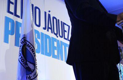DISCURSO DEL PRE-CANDIDATO ELIGIO JAQUEZ. UN PRESIDENTE CON LOS PIES SOBRE LA TIERRA.