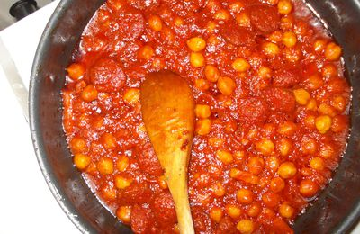 Pois chiches à la catalane