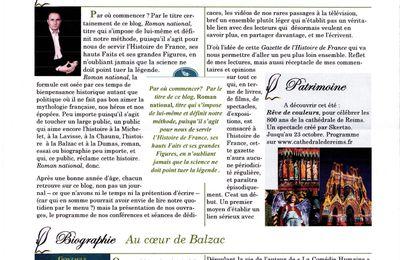 La Gazette de l'Histoire de France n°1