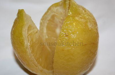 Preserved lemon-Moroccan recipe