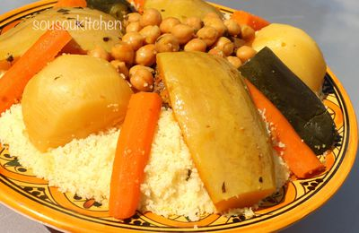 Couscous with beef-Moroccan recipes