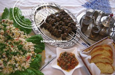 Rice and Tuna salad سلطة ارز و تونا