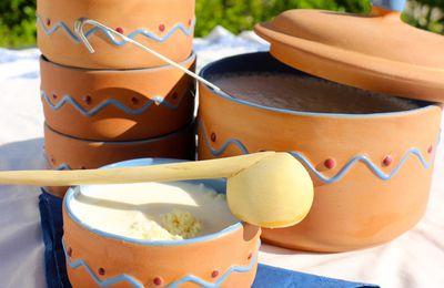 Couscous au lait fementé ou Saykouk -Cuisine Marocaine