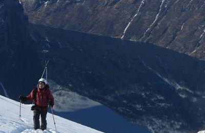 ski autour du fjord de Geiranger