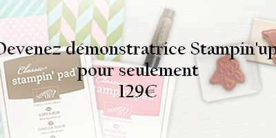 Devez Démonstratrice Stampin'up !