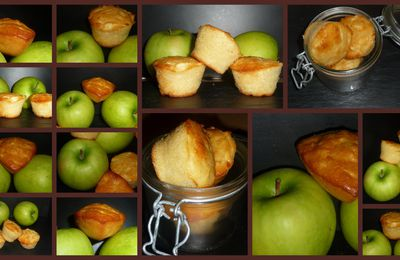 MUFFINS AUX POMMES GRANNY SMITH