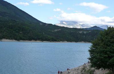 Lac du Monteynard en kayak