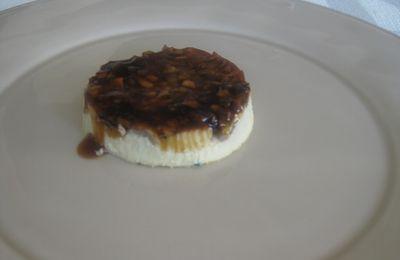 Crème renversée aux champignons