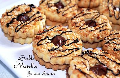 biscuit sec Nutella