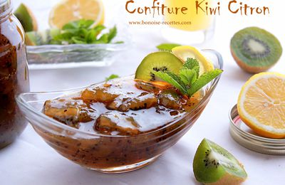 Confiture Kiwi-citron