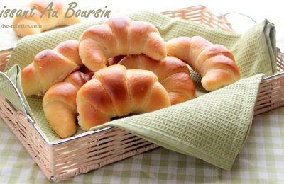 croissants salés au boursin