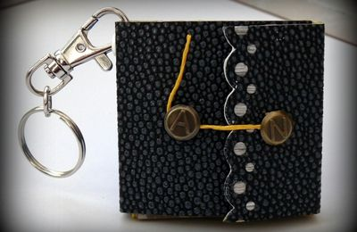 Mini album porte-clefs