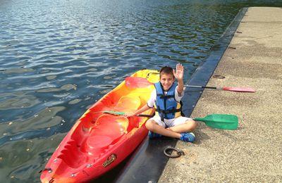 Kayak sur le Lot pour la journée du sport scolaire!