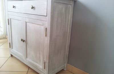 Meuble style louis philippe relook d co at home - Meuble ceruse gris ...