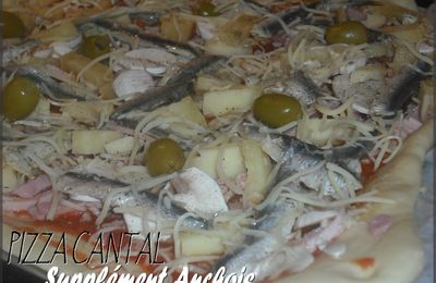 PIZZA CANTAL SUPPLEMENT ANCHOIS !
