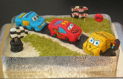 Gateau Cars 3D
