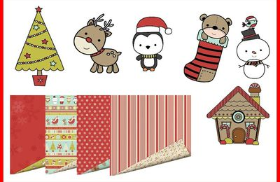 Nouvelle collection Santa's little Helper Imaginisce bientôt chez Scrapmania