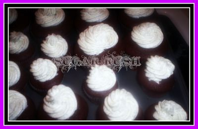Double Chocolate Cupcakes- A Sunday Sweet