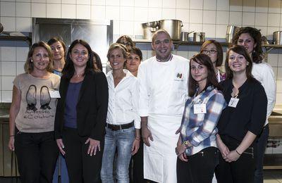 Blogueurs Party avec la Ministre Sylvia Pinel et le chef cuisinier de l'élysée(Fête de la gastronomie)