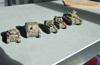 Restant de chars 15mm terminé
